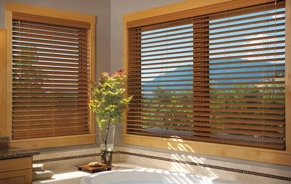 Shades for windows ready made extra long curtains for Fenetre panoramique
